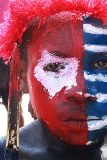 """""""On the 50th anniversary of the independence ceremony last week, Papuans demonstrated they are far from reconciled to living as Indonesian citizens."""""""