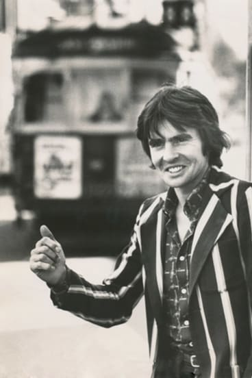 Monkees singer Davy Jones in Melbourne in 1980.