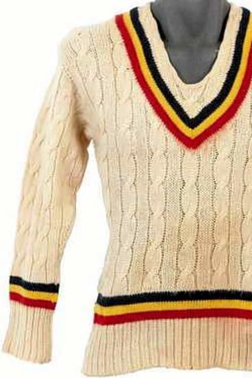 Harold Larwood's MCC sweater failed to find a buyer.