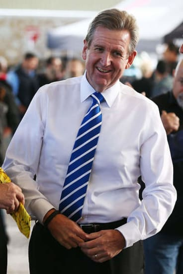 Supporting a conscious vote: NSW Premier Barry O'Farrell.