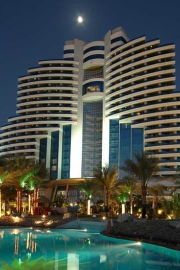 Le Meridien Al Aqah Beach Resort in Fujairah.