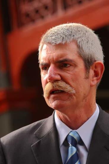 Police Association secretary, Greg Davies.