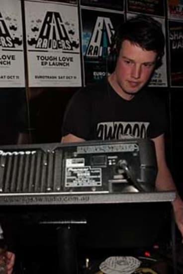 Ned Dwyer when he was DJing.
