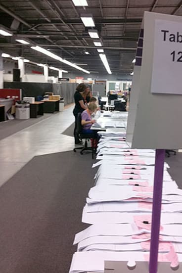 The entire state of WA is set to return to the polls due the lost ballots.