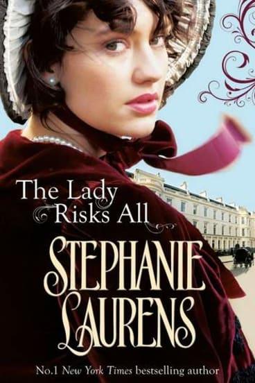 Ruby Award winner <i>The Lady Risks All</i> by Stephanie Laurens.
