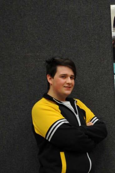 Orange High School student Andrew Farley.