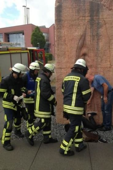 A total of 22 firefighters were involved in the rescue operation.