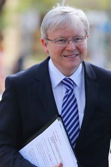 Target: Kevin Rudd.