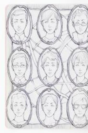 Michelle Mun's sketchbook.