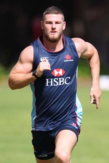 """""""I was pretty happy with the year, I felt like I'd really turned the corner on things and to be honest I feel like I still have"""" ... Wallabies centre Rob Horne."""
