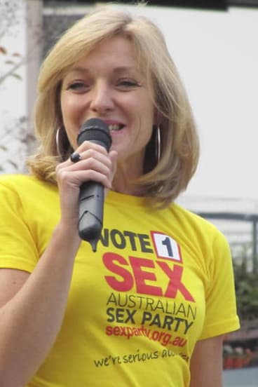 Google ad ban 'unlawful' ... Fiona Patten of the Australian Sex Party.