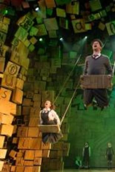 The Royal Shakespeare Company's production of <i>Matilda the Musical</i>.