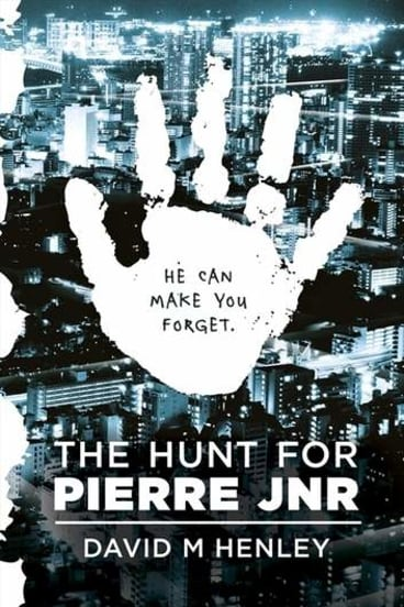 """<i>The Hunt for Pierre Jnr</i> is a """"handsome object, about the size of a CD case and packaged in a slip case""""."""