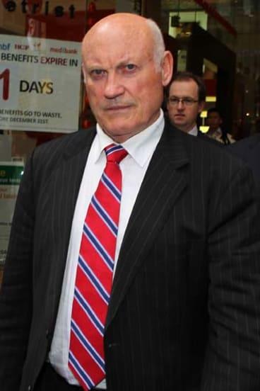 Former mining minister ... Ian Macdonald.