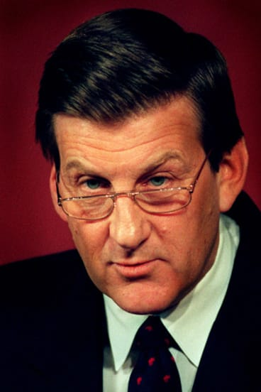 Dr David Penington's report report initially convinced then premier Jeff Kennett to pursue cannabis decriminalisation, but the Liberal leader later changed his mind.