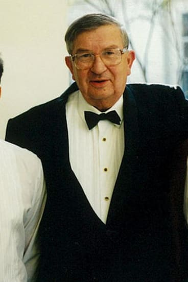 Vienna Boys Choir member and industrial chemist, Walter Hauser.