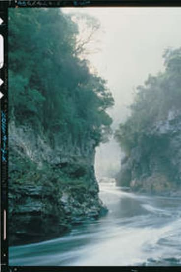 Peter Dombrovski's iconic image of Rock Island Bend.