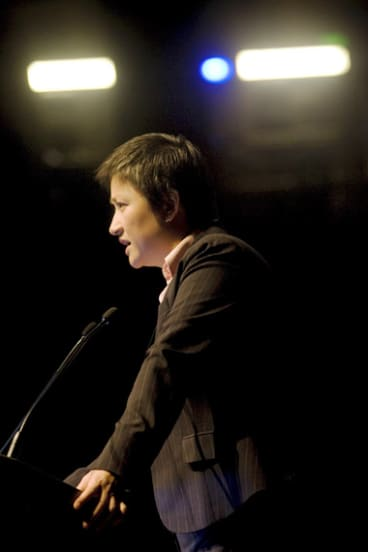 Penny Wong, the Federal Minister for Climate Change and Water.