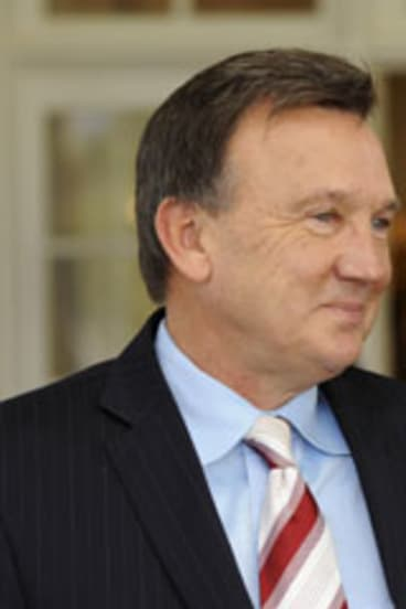 Tim Mathieson ... Julia Gillard says ''he's got a right to live his life''.