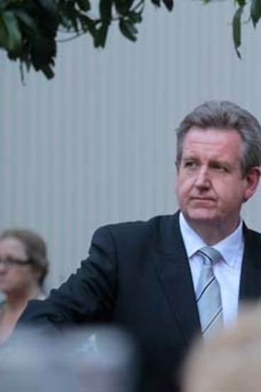 Short end of the stick ... Barry O'Farrell's decision to deal with the Shooters and Fishers Party may have destroyed any trust established in the minds of the public.