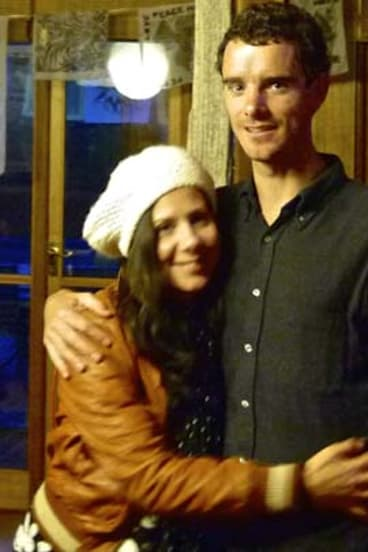 Ross Langdon and his partner Elif Yavuz: they were expecting their first baby in two weeks.