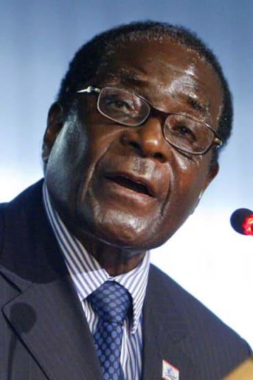 Mysterious hospital visit ... Zimbabwe's President Robert Mugabe.