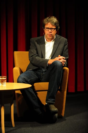 Scandalised: Jonathan Franzen was not pleased when Oprah Winfrey picked his novel for her book club.