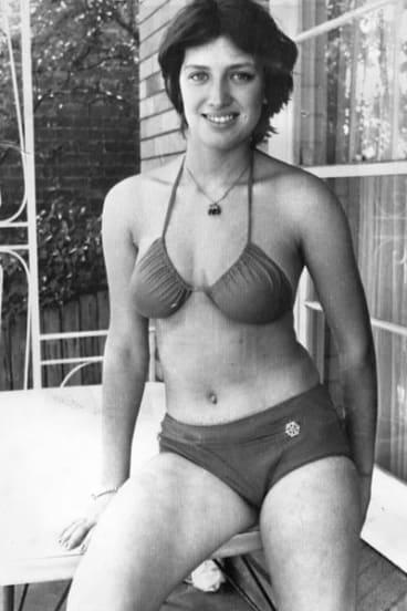 Miss January ...  Liliana Gasinskaya jumped ship in Sydney Harbour early in 1979.
