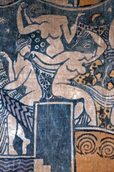 Michael O'Connell's 'Women Dancing' motif.