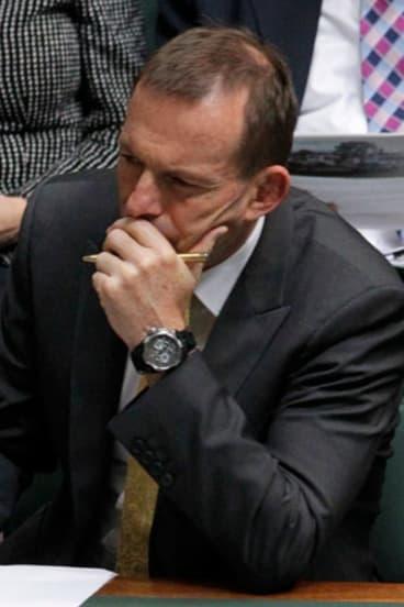 Tight hold on information: Tony Abbott.