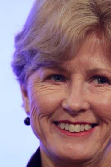 Greens leader, Christine Milne.