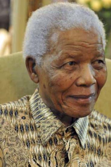 Abdominal complaint ... Nelson Mandela.