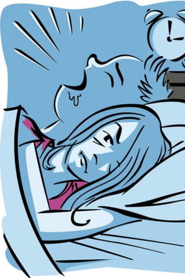 People can limit their snoring by controlling their air intake, Graham says.