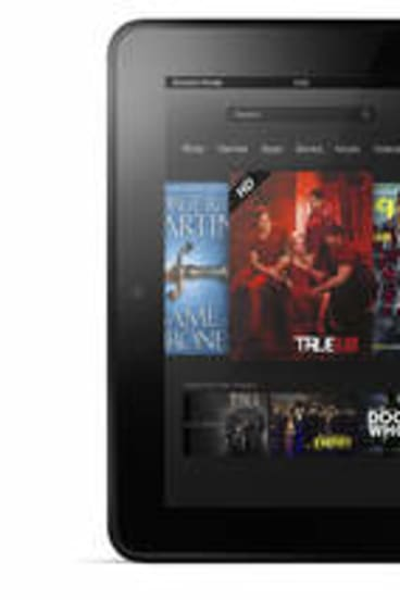 New generation: Amazon's Kindle Fire tablet.