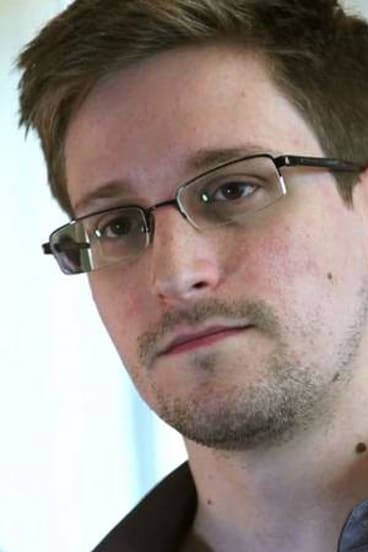 Edward Snowden: Leaked a secret US National Security Agency document.