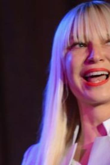 Pop singer Sia was nominated for five Grammy Awards.