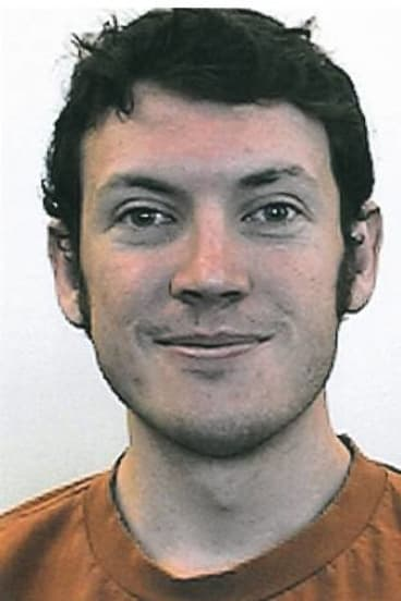 Mass shooting suspect James Holmes.