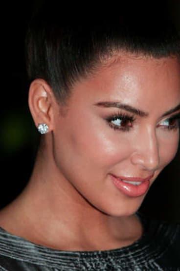 Vanpire facial: Kim Kardashian.
