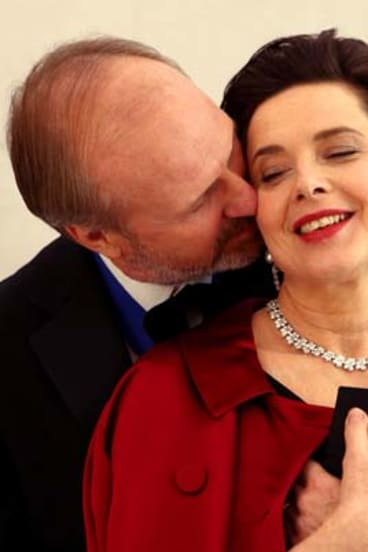 Isabella Rossellini and William Hurt in Late Bloomers.