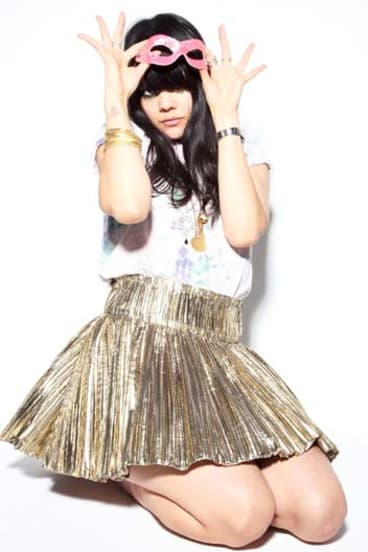 Free ... Natasha Khan, aka Bat For Lashes, says pop music allows her to create across diverse media.