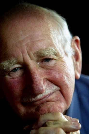 Major-General Allan Stretton had recently celebrated his 90th birthday.