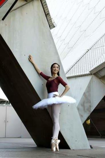 Natasha Kusen at the Sydney Opera House.