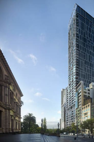 Rooms with a view: An artist's impression of 35 Spring Street.