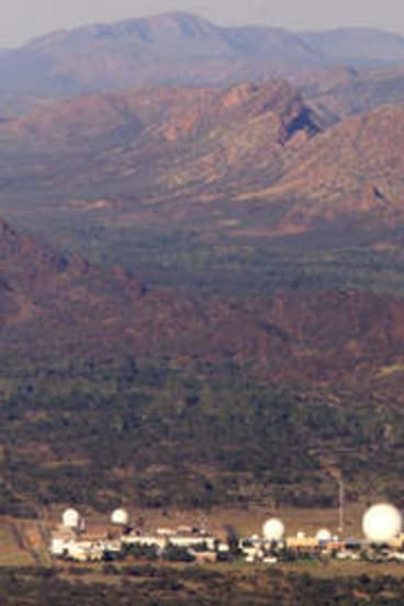 Central Australia's Pine Gap.