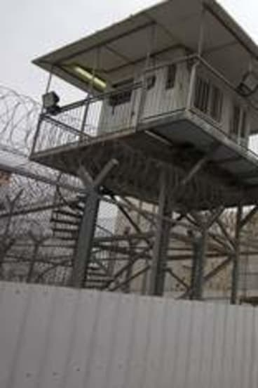Behind the wire … Ayalon Prison in Ramle near Tel Aviv.