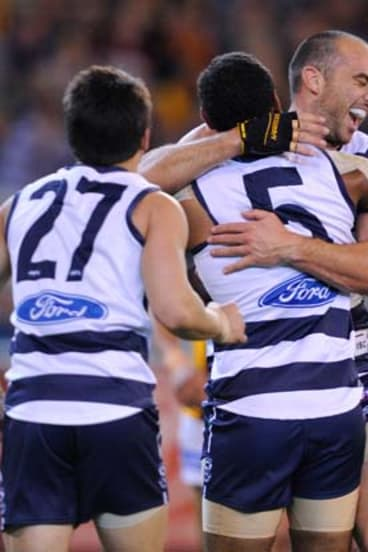 James Podsiadly with Travis Varcoe and Matthew Stokes.