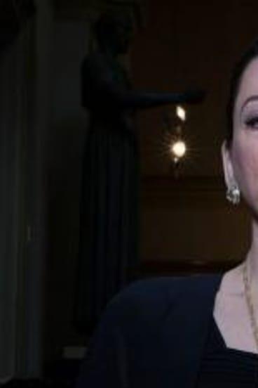 Marvellous: Actress Maria Mercedes is convincing as Maria Callas.