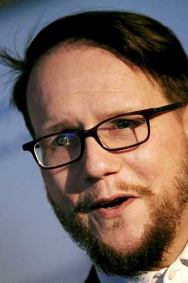 Icelandic writer Sjon.