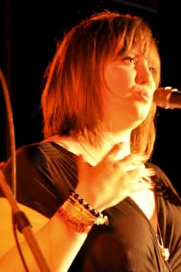 Matthew Flinders students specialise in 'new soul'; vocalist Bree Dahlstrom.