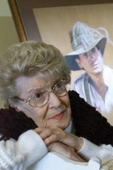 Devoted ... Blake's mother, Mascot, who died in 2007, gave up her career as a violinist to care for him.